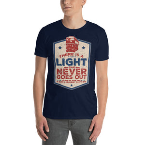 The Smiths - There Is A Light That Never Goes Out - Men's T-shirt Navy Blue 2
