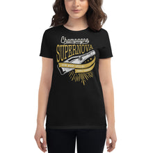 Load image into Gallery viewer, Oasis - Champagne Supernova - Women's T-shirt Black