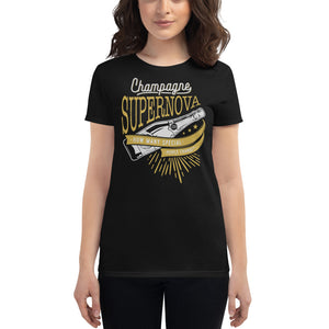 Oasis - Champagne Supernova - Women's T-shirt Black