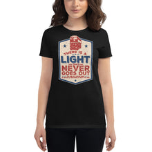 Load image into Gallery viewer, The Smiths - There Is A Light That Never Goes Out - Women's T-shirt Black