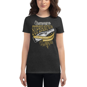 Oasis - Champagne Supernova - Women's T-shirt Heather Dark Grey