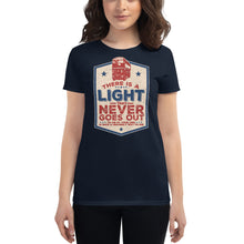 Load image into Gallery viewer, The Smiths - There Is A Light That Never Goes Out - Women's T-shirt Navy Blue