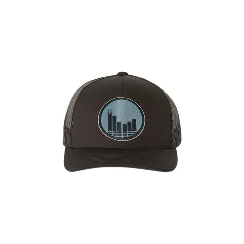 Black Patch Hat