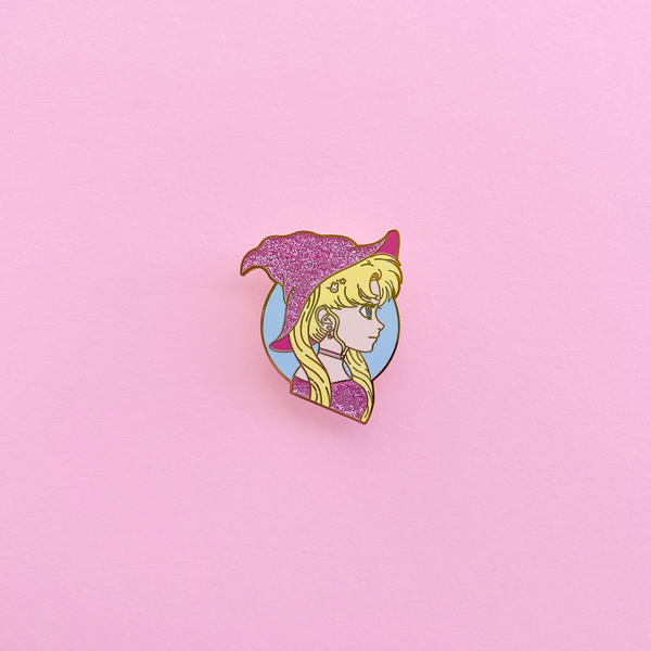 Moonie Witch Enamel Pin