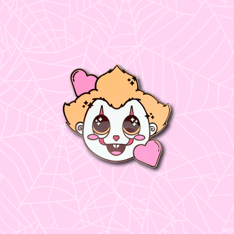 Dancing Clown Enamel Pin