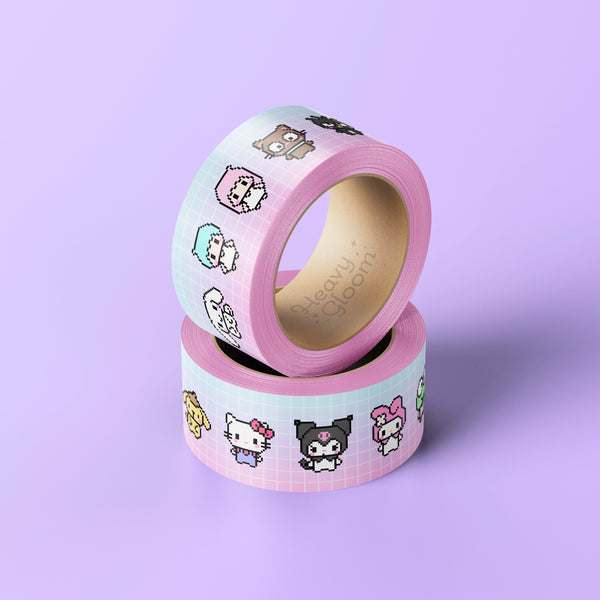 Kawaii Pocket Pals Washi Tape