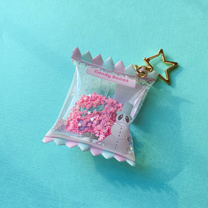 Candy Bones Candy Bag Keychains