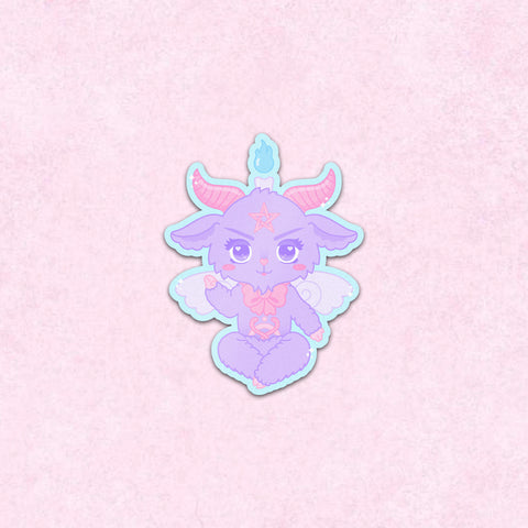 Chibi Baphomet Sticker