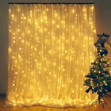 Load image into Gallery viewer, LED Curtain String Lights