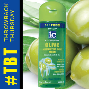 Throwback Thursday >> Olive Moisturizing Shine Serum
