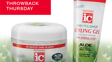 Throwback Thursday >> Aloe Hair Polisher Styling Gel