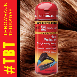 Throwback Thursday: Heat Protector Straightening Serum