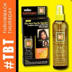 Throwback Thursday >> PM Night Time Oil Treatment