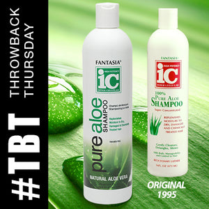 THROWBACK THURSDAY >> Pure Aloe Shampoo