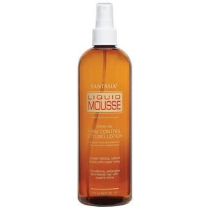 LIQUID MOUSSE ‣ Spray on Firm Control Styling Lotion (16 oz.)