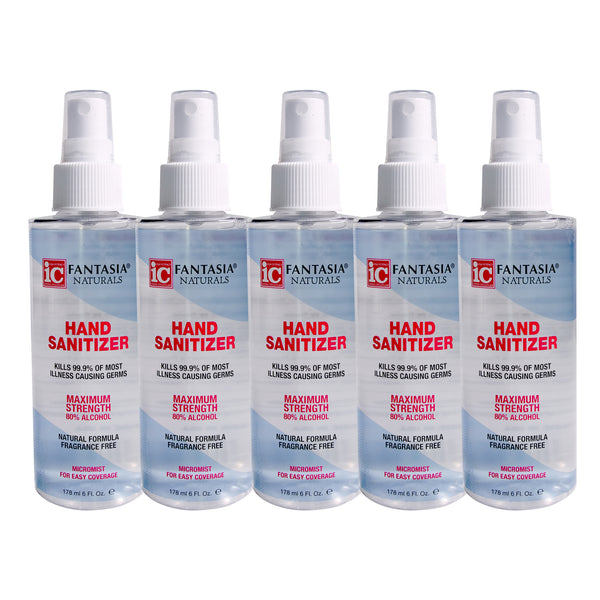 5 Pack of 6 Oz Hand Sanitizers $25 Special