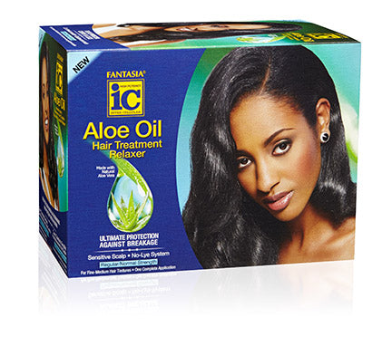 Aloe Oil Hair Treatment Relaxer (REGULAR)