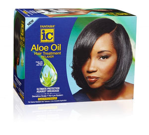 Aloe Oil Hair Treatment Relaxer (Super)