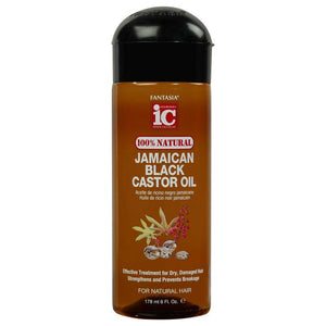 JAMAICAN BLACK CASTOR OIL ‣ (100% NATURAL)