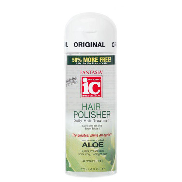 IC HAIR POLISHER SERUM ‣ 2 oz. Aloe Enriched Daily Hair Treatment / Travel Size