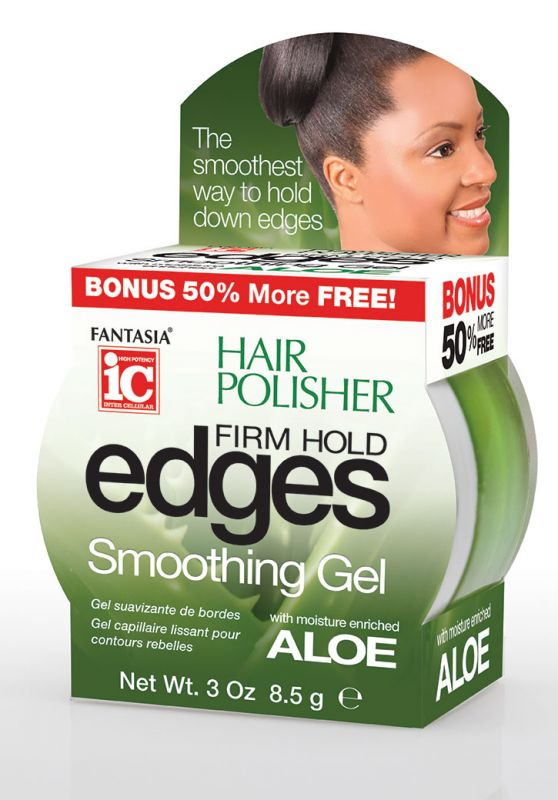 IC HAIR POLISHER ‣  Edges Firm Hold Smoothing Gel