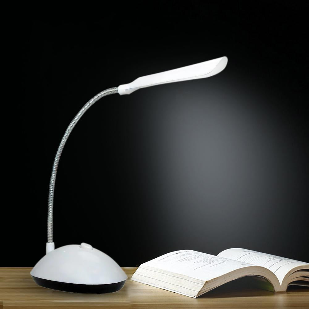 255 Portable LED Reading Light Adjustable Dimmable Touch Control Desk Lamp