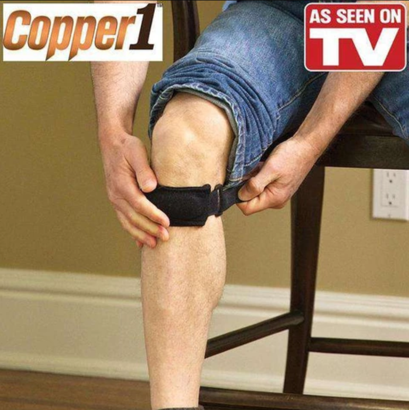 KNEE COMPRESSION STRAP TO REDUCE PAIN