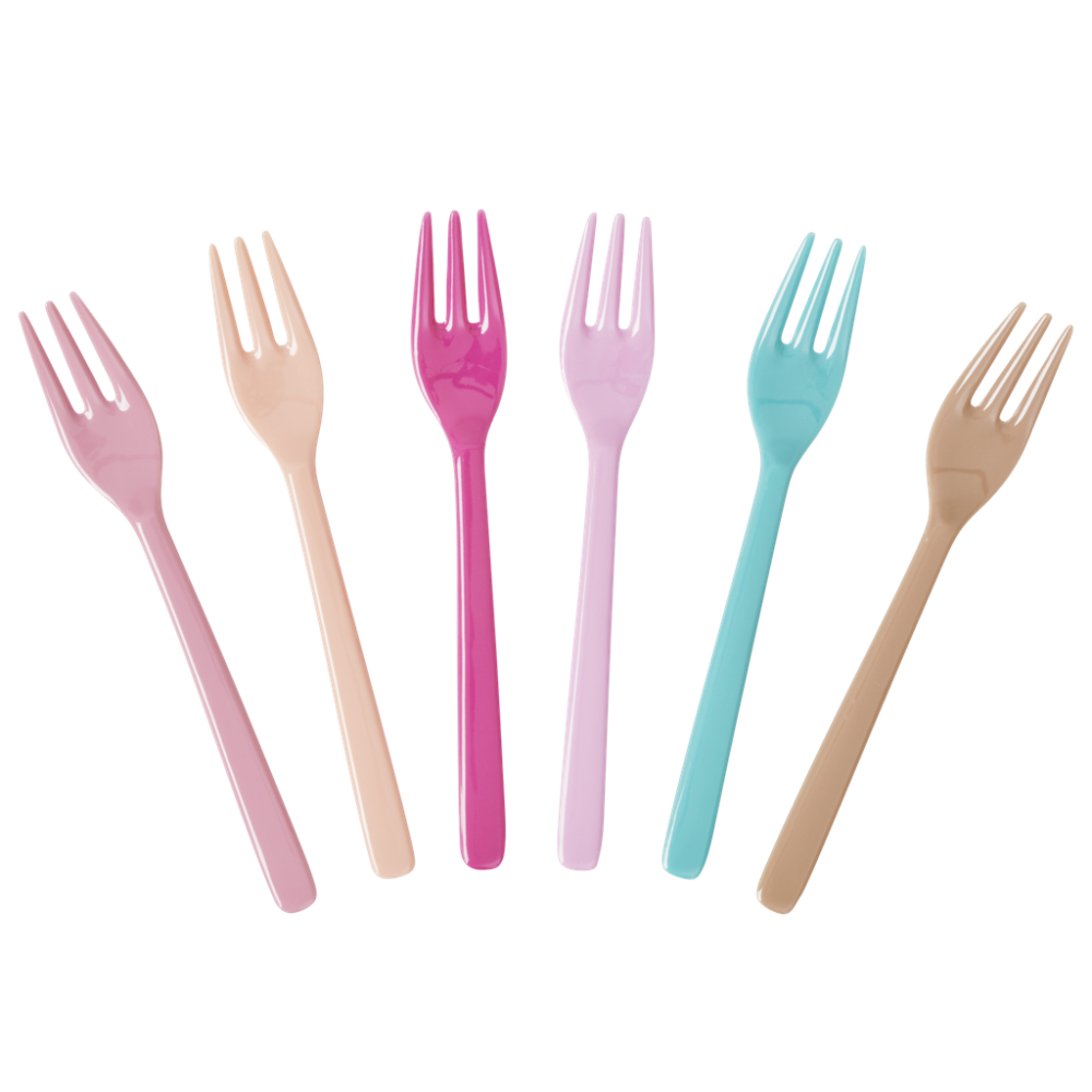 627 Kids Forks Set (Random Color, 10 pcs)