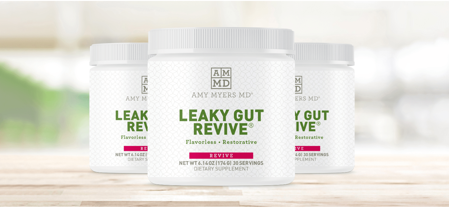 3 jars of Leaky Gut Revive