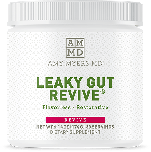 Front of Leaky Gut Revive jar
