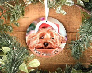 Personalised Dog Memorial Ornament