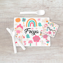 Load image into Gallery viewer, 8002 - Fairy Print Placemat & Coaster