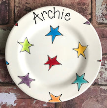 Load image into Gallery viewer, 9003 - Standard Size Personalised Hand Painted Ceramic Plate