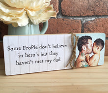 Load image into Gallery viewer, 1047 - Daddy Message Photoblock - I/We love you...