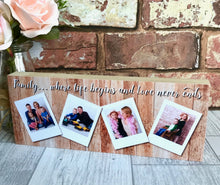 Load image into Gallery viewer, 1103 - Polaroid Photo Collage Photoblock
