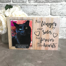 Load image into Gallery viewer, 1128 - Cat Memorial Photoblock