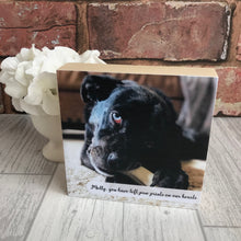 Load image into Gallery viewer, 1088 - Square Pet Photoblock