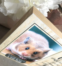 Load image into Gallery viewer, 1130 - Hamster Memorial Photoblock