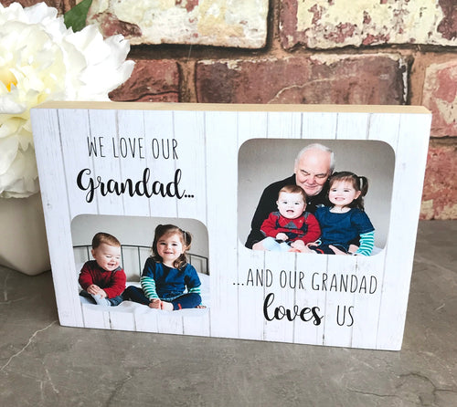1098a - I/We love our Grandad/Nanny/Grandpa/Nana