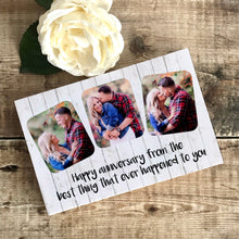 Load image into Gallery viewer, 1109 - Funny Anniversary Photoblock Gift