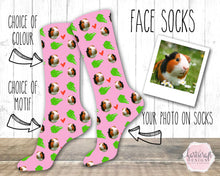 Load image into Gallery viewer, 6001 - Custom Dog Face Photo Socks