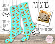 Load image into Gallery viewer, 6005 - Custom Pet Face Photo Socks
