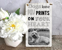 Load image into Gallery viewer, 1139 - Dog Wood Hanging Plaque