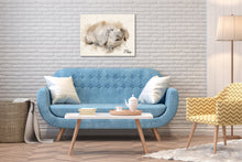 Load image into Gallery viewer, 4004 - Custom Rabbit Watercolour Canvas