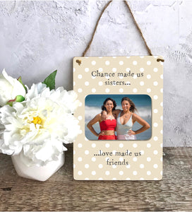 1116 - Wooden Wall Hanging Plaque - Any Text, Any Photo, Any Occasion
