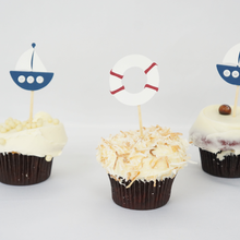 Load image into Gallery viewer, Custom cupcake toppers