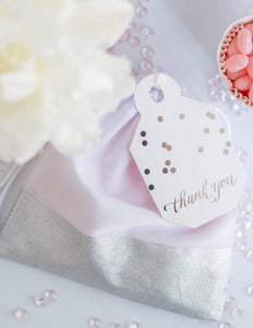 Party Favor Bags - Silver