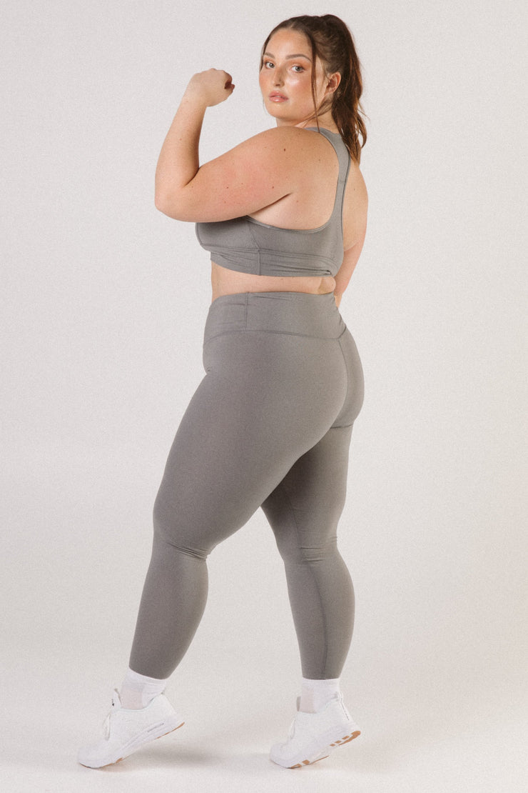 Charcoal High Waist Leggings