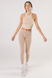 Nude Mid Waist Leggings