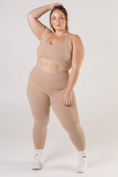 Nude High Waist Leggings